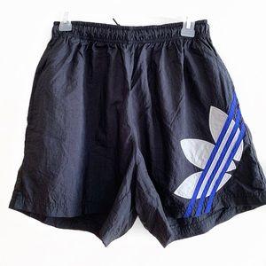 Vintage Adidas Windbreaker Shorts
